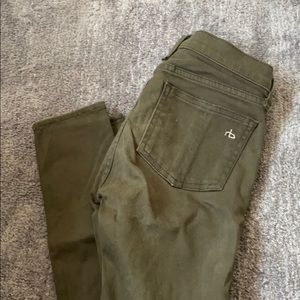 Tag and bone army legging jean